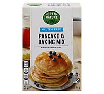 Open Nature Pancake & Baking Mix Gluten Free Gluten Free - 16 Oz