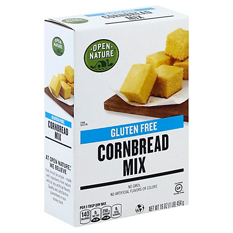 Open Nature Cornbread Mix Gluten Free - 16 Oz