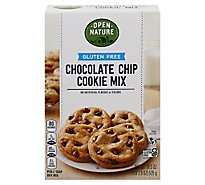 Open Nature Chocolate Chip Cookie Mix Gluten Free - 18.5 Oz