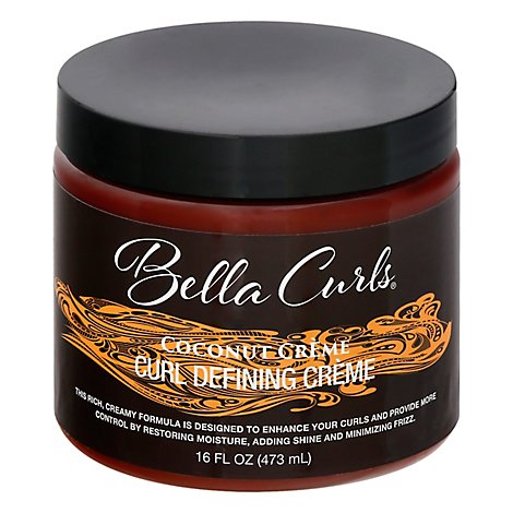 Bella Curls Coconut Define Cream - 16 Oz