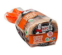 Daves Killer Bread Pumpkin Spice Bagel - 16.75 Oz
