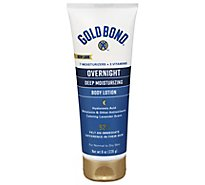 GOLD BOND Ultimate Lotion Skin Therapy Overnight Deep Moisturizing - 8 Oz