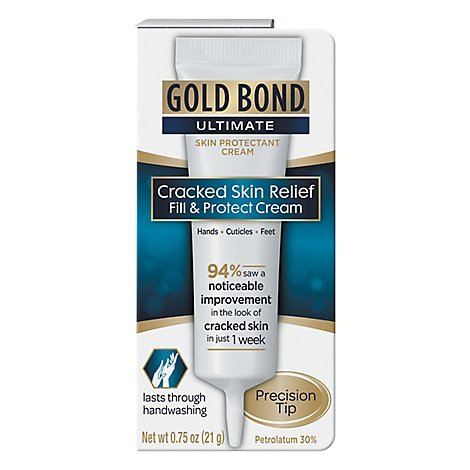 GOLD BOND Ultimate Cracked Skin Relief Fill & Protect Cream - 0.75 Oz