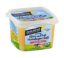 Carrington Farms Organic Ghee With Pink Himalayan Salt Gras Fed - 12 Oz