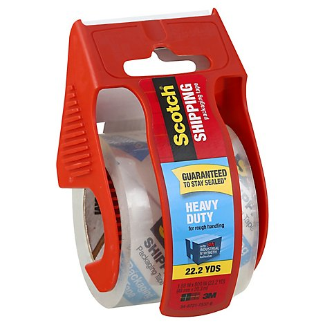 Scotch Heavy Duty Shipping Packaging Tape 2 Inch X 800 Inch - 22.2 Yard