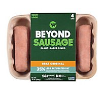 Beyond Meat Beyond Sausage Brat Original Plant Based Sausage Links - 14 Oz.