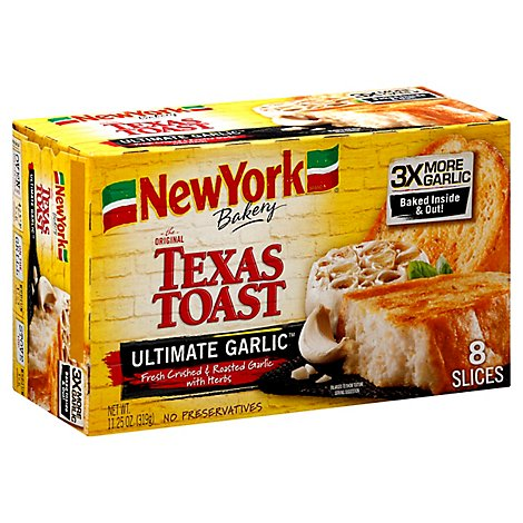 New York Ultimate Garlic Toast - 11.25 Oz