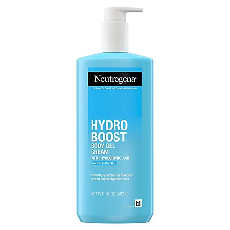 Neutrogena Hydro Boost Body Gel Cream Normal To Dry Skin - 250 Ml
