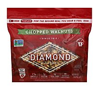 Diamond Walnuts Chopped Sup - 1 Lb