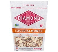 Diamond of California Almonds Sliced - 6 Oz