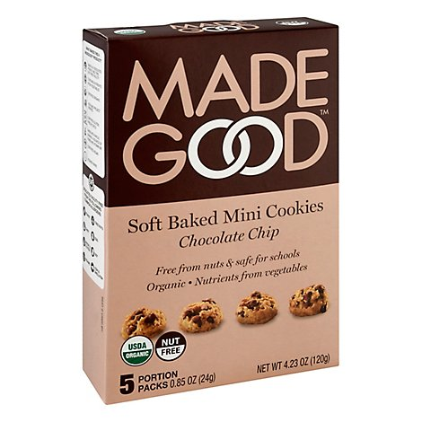 Madegood Cookies Mini Choc Chip - 5 Package