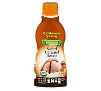 Californi Sauce Salted Carmel Org - 15.8 Oz
