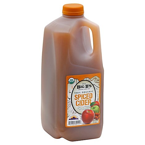 Big Bs Organic Spiced Cider 100% Organic - 64 Fl. Oz.