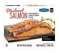 C.wirthy Blackened Salmon Portions - 10 Oz
