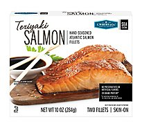 C.wirthy Teriyaki Salmon Portions - 10 Oz