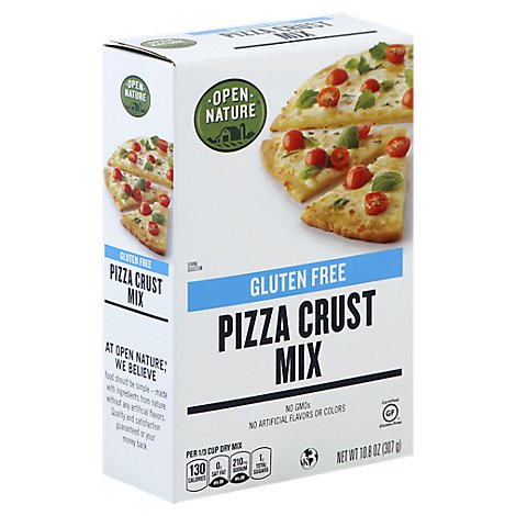Open Nature Pizza Crust Mix Gluten Free - 10.8 Oz