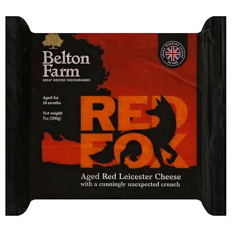 Belton Farm Cheese Red Leicester Fox - 7 Oz