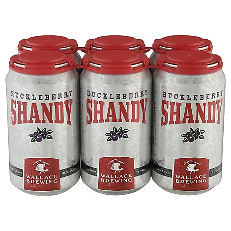 Wallace Huckleberry Shandy In Cans - 6-12 Fl. Oz.