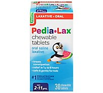 Pedia-Lax Laxative Saline Chewable Tablets Age 2 To 11 Years - 30 Count