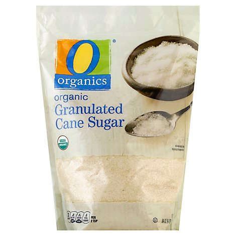 O Organics Sugar Granulated Cane - 64 Oz