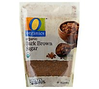 O Organics Sugar Dark Brown - 24 Oz