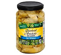 Signature Farms Artichokes In Water Qrtrd - 12 Oz