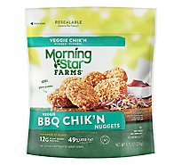 MorningStar Farms Veggie Nuggets Bbq Chikn - 9.75 Oz