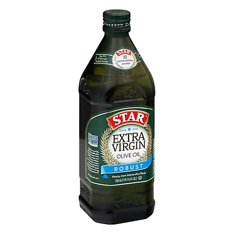 Star Extra Virgin Olive Oil 750ml - 25.36 Fl. Oz.