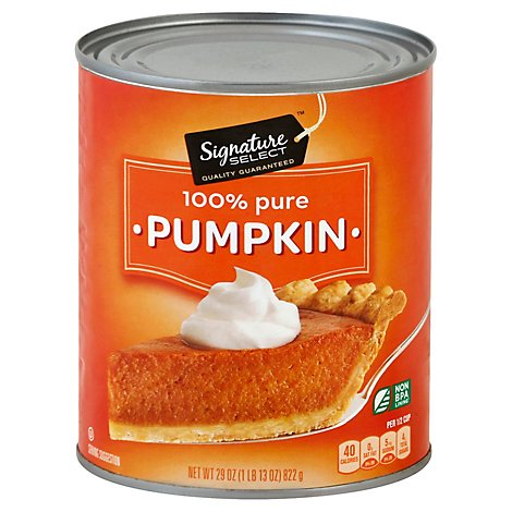 Signature SELECT Pumpkin 100% Pure - 29 Oz