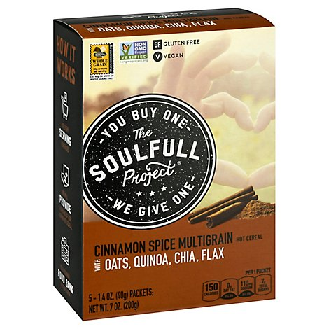 Soulful Project Cereal Cinnamon - 7 Oz