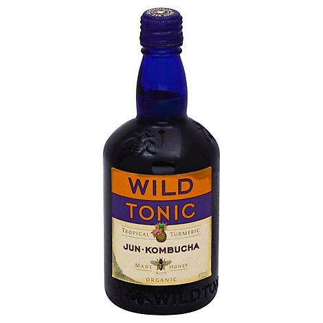 Wild Tonic Tropical Turmeric Jun Kombucha - 16 Fl. Oz.