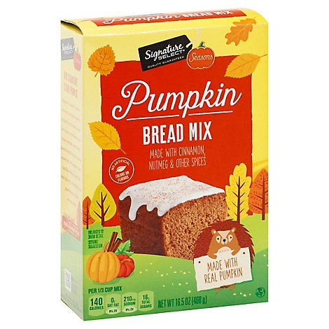 Signature Select Seasn Mix Pumpkin Bread - Each