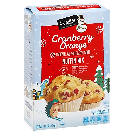 Signature SELECT Seasons Mix Cranberry Orange Muffin - Each