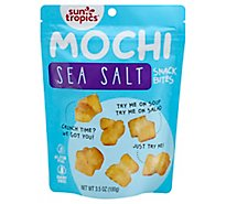 Sun Tropi Rice Bites Mochi Sea Salt - 3.5 Oz