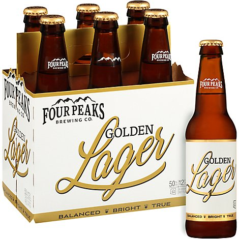 Four Peaks Golden Lager In Bottles - 6-12 Fl. Oz.