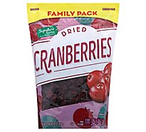 Signature Farms Cranberries Dried Family Pack - 30 Oz
