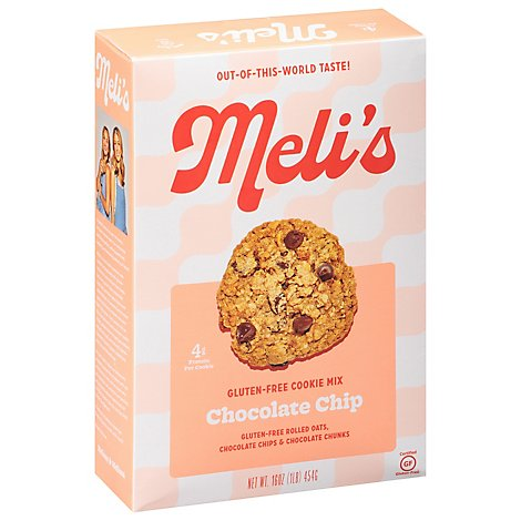 Melis Monster Choco-Lot Cookie Gluten Free Mix - 16 Oz