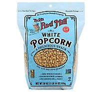 Bobs Red Mill Popcorn White Whole Gluten Free - 30 Oz