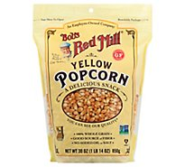 Bobs Red Mill Popcorn Yellow Whole Gluten Free - 30 Oz