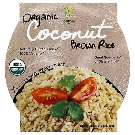 Healthee Brown Rice Organic Coconut - 7.6 Oz