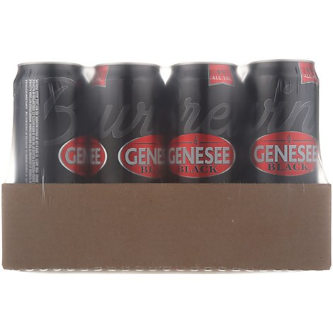 Genesee Black In Cans - 24 Oz