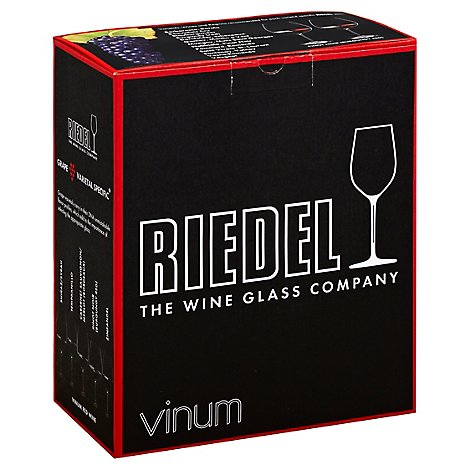 Riedel Vinum Burgundy Wine Glasses - 2 Count