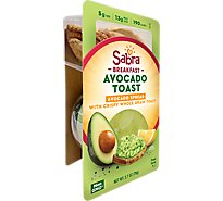 Sabra Avocado Spread With Toast - 2.7 Oz