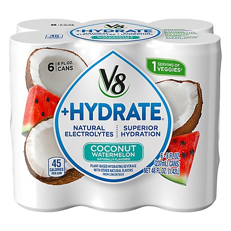 V8 Coconut Watermelon - 6 - 8 Fl. Oz.