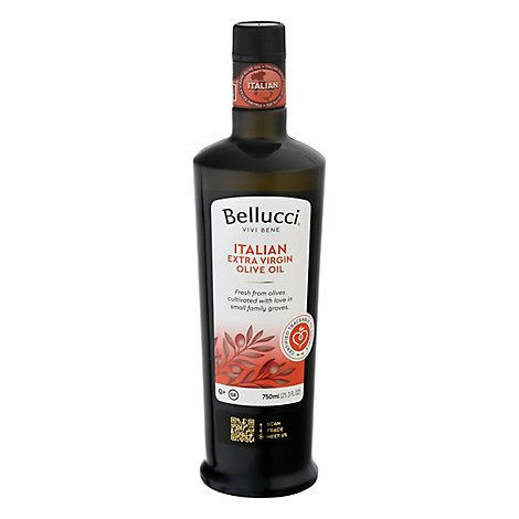 Bellucci Olive Oil Extra Virgin 100% Italian - 750 Ml