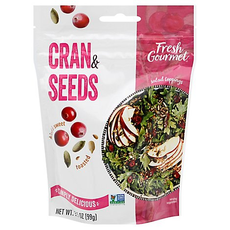 Dried Cranberries And Seeds Bag - 3.5 Oz