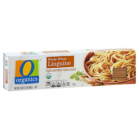 O Organics Pasta Linguine Whole Wheat - 16 Oz
