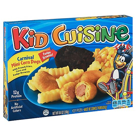 Kid Cuisine Corn Dog - 8.80 Oz
