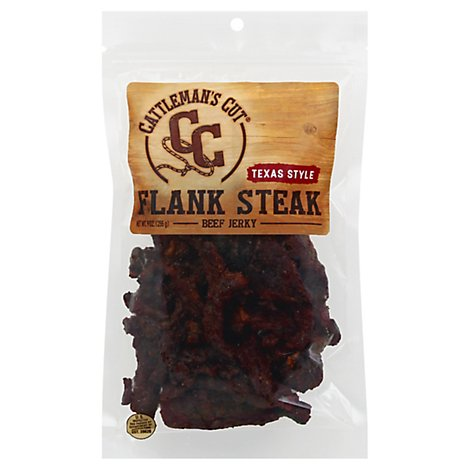 Cattlemans Texas Style Flank Steak - 9 Oz