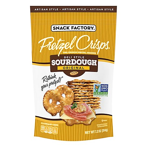 Pretzel Crisp Sourdough - 7.2 Oz